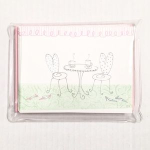 ✨NEW✨Hallmark | Cute Garden Tea Party Notecards